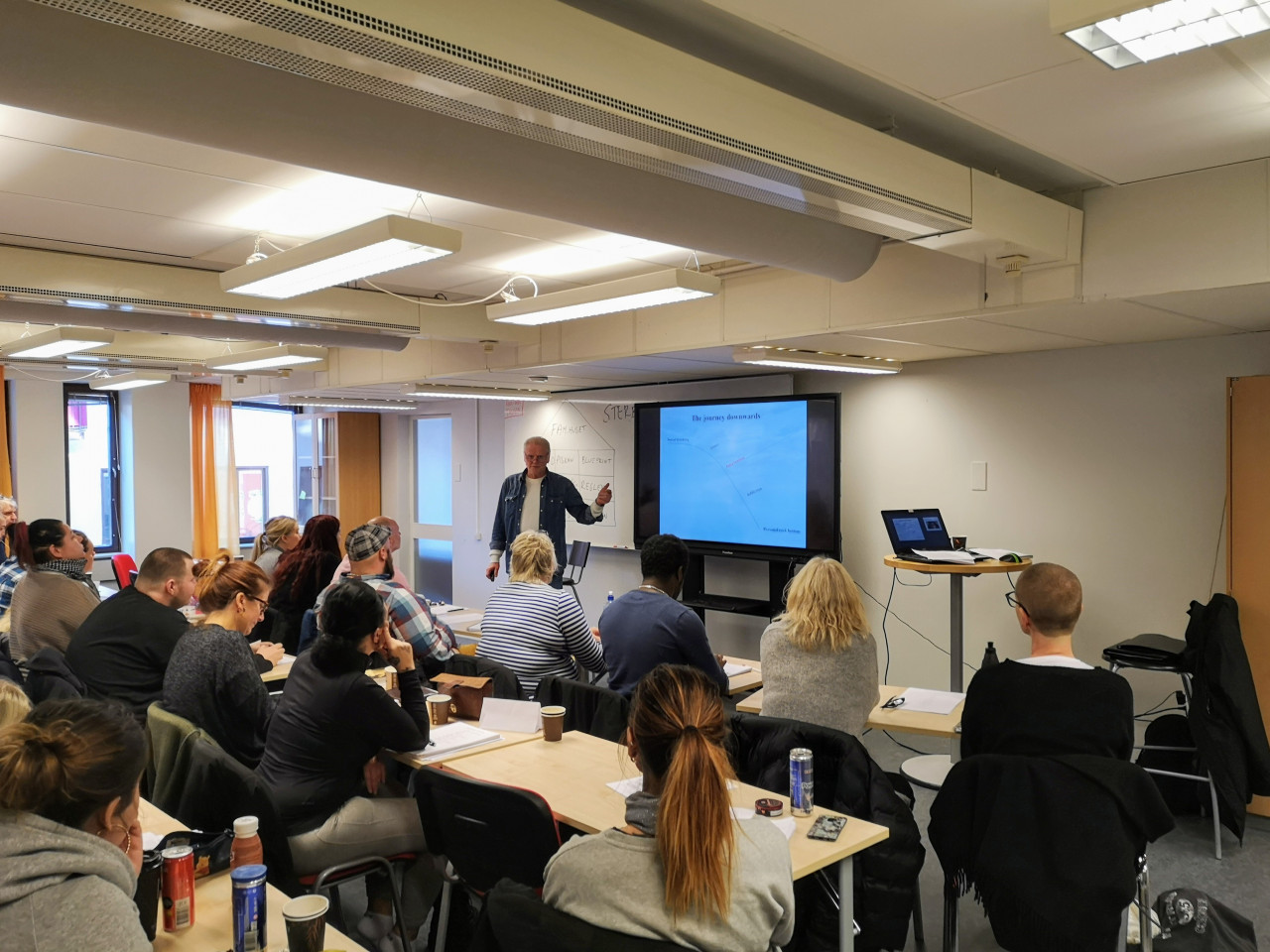 3 days seminar for students in Sundsvall